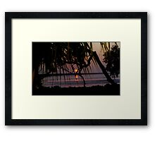 """""""Stairway to the Moon"""" Framed Print"""