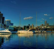 waterway,Dockland,Melbourne by Max R Daely