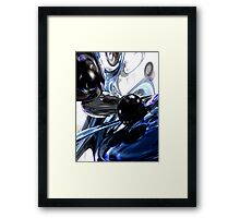 Storm Shadow Abstract Framed Print