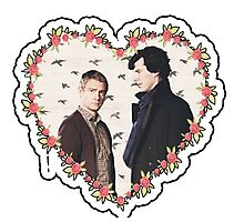 HEARTED JOHNLOCK Photographic Print