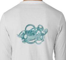 Monkey Wrestle Tee Shirt Long Sleeve T-Shirt