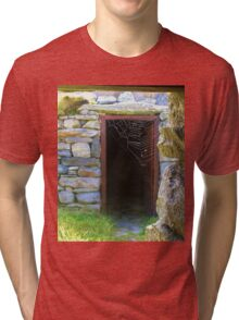 From One Doorway To Another Tri-blend T-Shirt