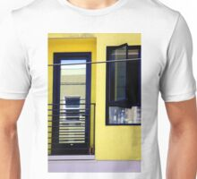 Second And Third Floor Windows With Door Unisex T-Shirt