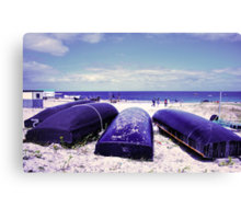 Summer by the beach Canvas Print