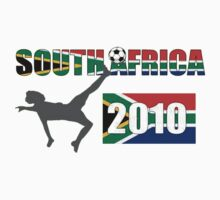 South Africa - 2010 World Cup T-Shirts by taiche