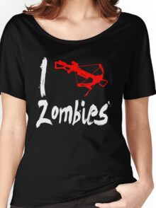 i killed zombies Women's Relaxed Fit T-Shirt