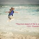 The Object of Life (quote) by MarjorieB