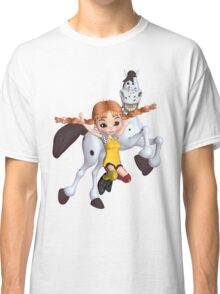 Cutie Pie Long Stockings  Classic T-Shirt