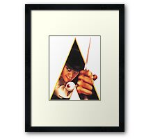 Clockwork Orange Stanley Kubrick Framed Print