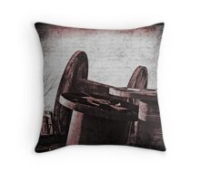 Tarnished Throw Pillow