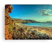 Clonque Bay - Alderny Canvas Print