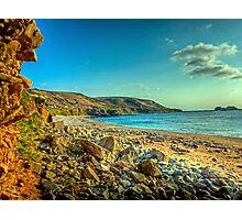 Clonque Bay - Alderny Photographic Print