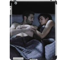 Sleeping Sterek  iPad Case/Skin