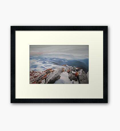 My Mountain Framed Print