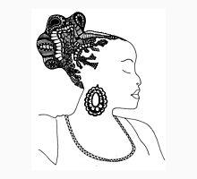 Pen & Ink  Drawing | Women's Updo. Unisex T-Shirt