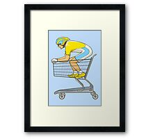 Retail Racer Framed Print