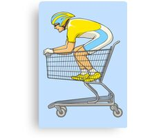 Retail Racer Canvas Print