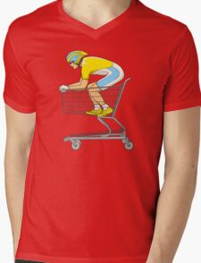 Retail Racer Mens V-Neck T-Shirt