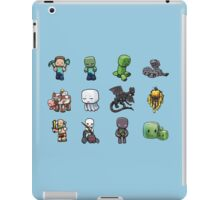 characters of minecraft :D iPad Case/Skin