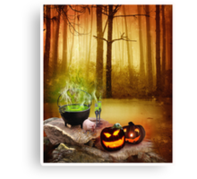 drink the magic potion  Canvas Print