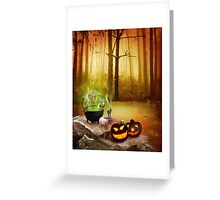 drink the magic potion  Greeting Card