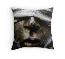 There is None So Blind Throw Pillow