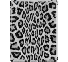 Hipster abstract black white animal print  iPad Case/Skin