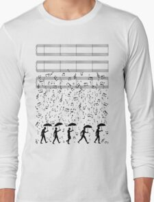 Singing in the Raaaain Long Sleeve T-Shirt
