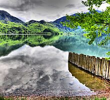 HDR Lake Kochelsee (Germany) by Daidalos