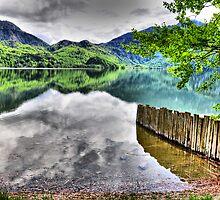 HDR Lake Kochelsee (Germany) by Daidalos