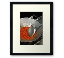 spicy chilli Framed Print