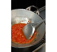 spicy chilli Photographic Print