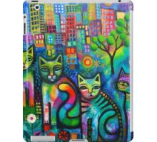 Out on the Town  iPad Case/Skin