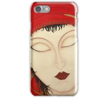 Fortuna Beautiful Mysterious Gypsy Woman Painting iPhone Case/Skin