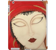 Fortuna Beautiful Mysterious Gypsy Woman Painting iPad Case/Skin
