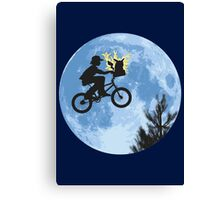 Electric Ride Canvas Print