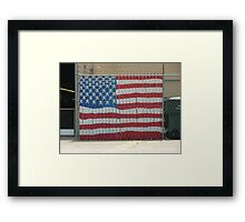 Patriotism III Framed Print