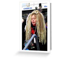 Hair Greeting Card