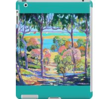 Town of 1770 View from Captain Cook's Lookout  iPad Case/Skin