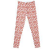 Apple seamless pattern Leggings