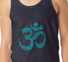 OM Feather texture Tank Top
