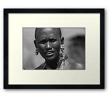Quizzcal - Masai Mara - Kenya Framed Print