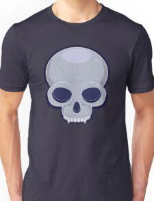 Skull in blue Unisex T-Shirt