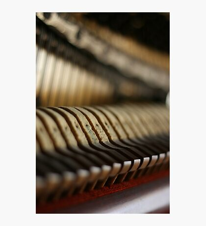 Anatomy of a Piano Photographic Print