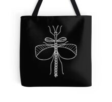 Goliath Stick Insect (White on Black) Tote Bag