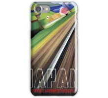 Japan Vintage Travel Poster Restored iPhone Case/Skin