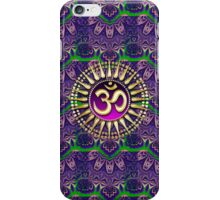 Golden OM Purple Bohemian Pattern iPhone + iPod Touch Case iPhone Case/Skin