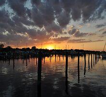 Long Warf Sunset I by TimWebster