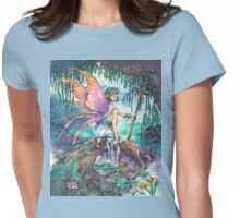 Spring Faery Womens Fitted T-Shirt
