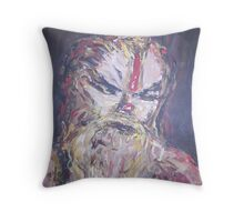 SADHU of KATHMANDU  Throw Pillow